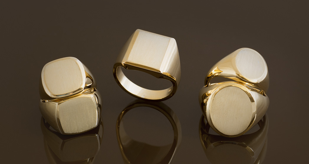 Signet Engraving and Signet Rings