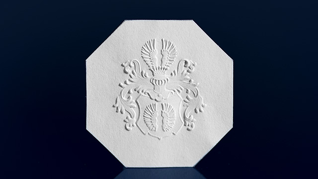 Blind Embossing and Embossing Stamps